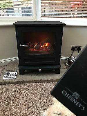 Chesney Stove Electric Log Burner - The Salisbury