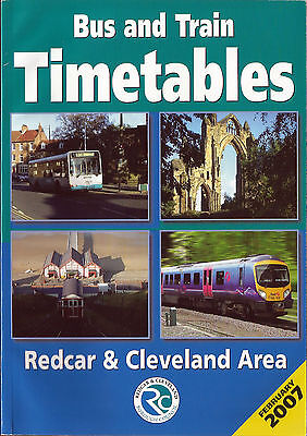 Redcar & Cleveland BC Redcar & Cleveland area Timetable book - Feb. 2007