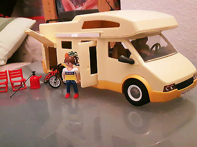 Playmobil Camping Familiy Wohnmobil 3647 - A selten in gutem Zustand