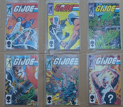 MARVEL GI JOE Mike ZECK cover art LOT of 19 comics NM 1st PRINT