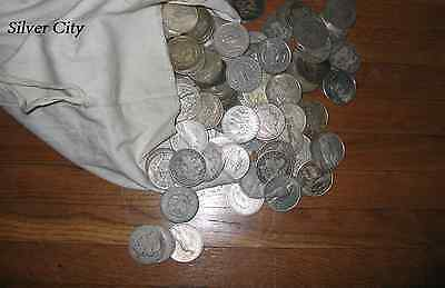 100 Morgan and Peace Silver Dollars Assorted Conditions United States Dollars