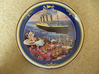 Titanic Queen of the Ocean THE CAFE PARISIEN Plate - James Griffin