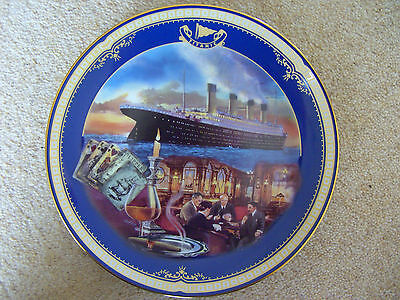 Titanic Queen of the Ocean THE SMOKING ROOM Plate - James Griffin
