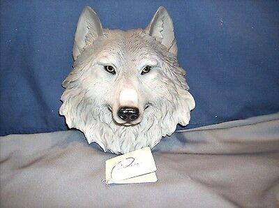 Large Wolf Wall Hanging- Animal Spirit Totems - HD25581   ABC