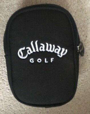 Callaway Golf Sport Valuables Pouch Accessories Bag Red And Black Good Condition