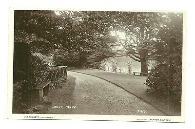 Burton-on-Trent - a photographic postcard of Dove Cliff