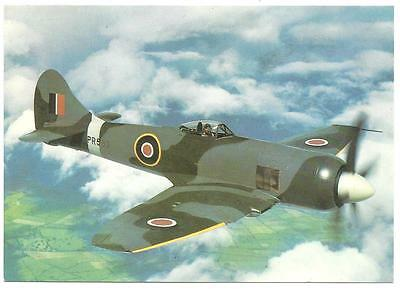 HAWKER TEMPEST II PR533. Colour Postcard. New. Unposted. 33 SQUADRON RAF.