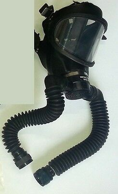 Lot of 5 Mask parts of Canadian MSA CHEMOX A4 OXYGEN BREATHING APPARATUS (Qty)