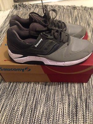 Men's Saucony Black Running/gym Trainers Size 10 RRP £95 Grid 900