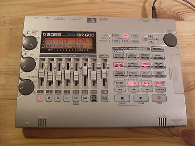 Boss Br600 8 Track Digital Recorder With Psu, Manual, Soft Case & Free Uk Post