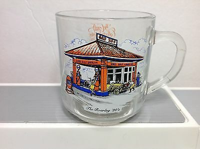 Gulf Gas Oil Series The Roaring 20's  Glass Coffee Mug Cup