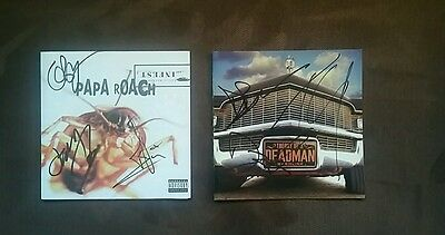 PaPa Roachand Theory of a deadman signed