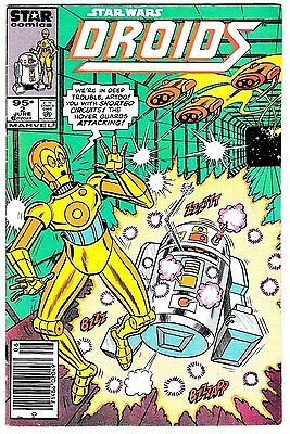 DROIDS #2 (FN-) C3PO R2D2 Marvel Star Wars Canadian Price Variant! 1986