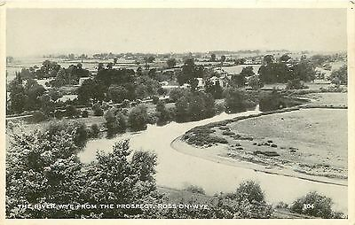 s10399 River Wye, Ross-on-Wye, Herefordshire, England postcard unposted