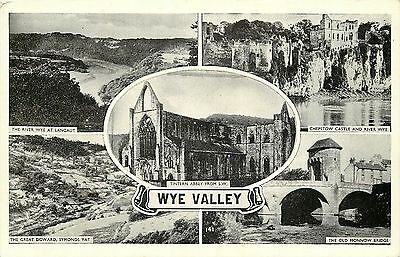 s10401 Wye Valley, Herefordshire, England postcard unposted