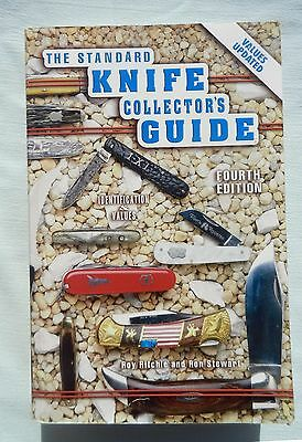 Standard Knife Collector's Guide Book Third 4th Ed. by Ritchie and Stewart 2003