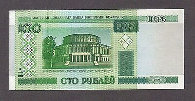 2000 100 Rubles Belarus Currency Unc Banknote Note Money Bank Bill Cash Europe