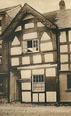 s10410 Oldest House, Leominster, Herefordshire, England postcard unposted