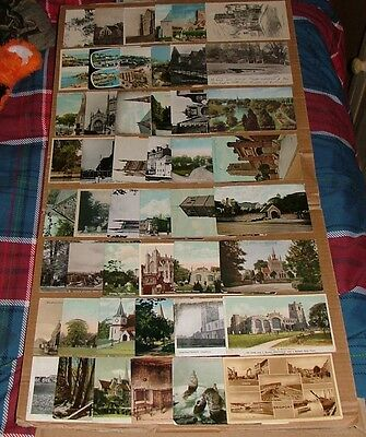 [2029] A Small Collection Of 100 Postcards Mixed Periods, Mostly Religious