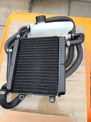 Yamaha Aerox 50cc Radiator with Coolant header Tank Bottle And Pipes