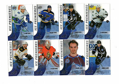 2015-16 Nhl Upper Deck Ice Rookie 36 Cards All #/1999 (Rangers,flyers,bruins