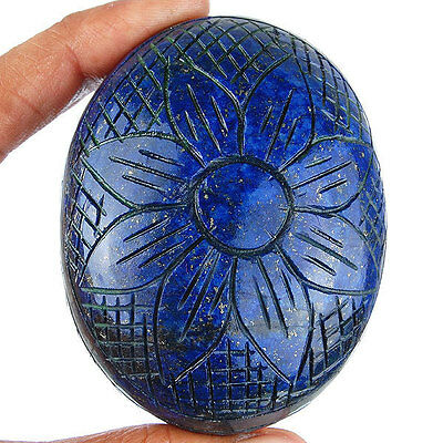 925 Cts Natural Lapis Lazuli Gold Pyrite Hand Carved Huge Museum Size Gemstone