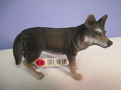 Schleich WOLF with tag -