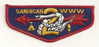 Sanhican Lodge 2  F1  First Flap Ff  New Jersey Oa