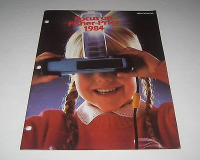 Fisher Price 1984 Toy Fair Salesman Catalog Muppets Little People Construx