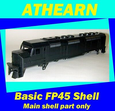 FP45 UNDECORATED BODY SHELL         ATHEARN HO Scale