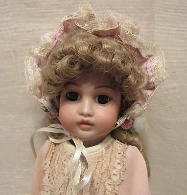 """Beautiful Antique French Bru Jne Artist Reproduction Doll 11"""""""
