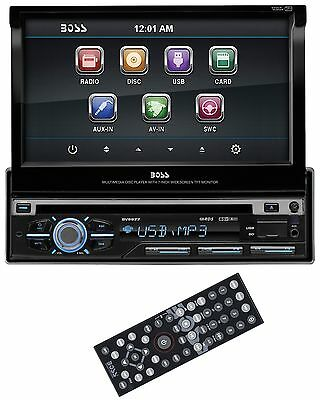 "Boss BV9977 7"" Touchscreen In Dash CD/DVD Car Player USB/SD AUX Receiver Radio"