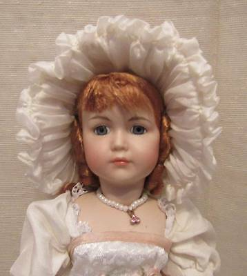 """Beautiful Antique French At Artist Reproduction Doll 11"""" (B)"""