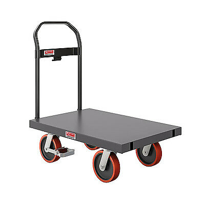 "Suncast Commercial 24"" x 36"" All Purpose Metal Platform Hand Truck 