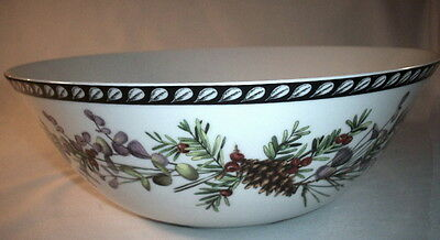 Lenox: Catherine McClung:Etchings Collection ENGLISH YEW Console Bowl: EXC: NR