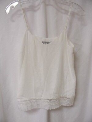 KENDALL JENNER PERSONALLY OWNED AND WORN WHITE LINGERIE TOP! with COA and LOA!!