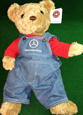 "Herrington Teddy Bear 2002 Exclusively Made for MERCEDES BENZ 18"" PLUSH New+Tag"