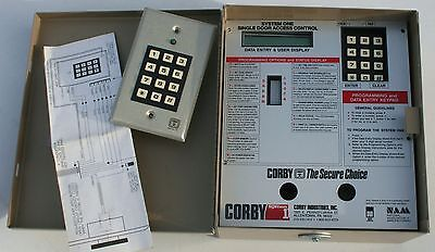 Corby System One Version 4.5 D Single Door Access Control Keypad Security Alarm