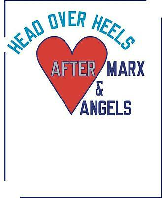 LAWRENCE WEINER limited edition SIGNED Head over Heels PRINT