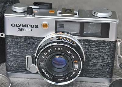 Olympus 35 ED Range Finder Camera w/ Extras from Japan