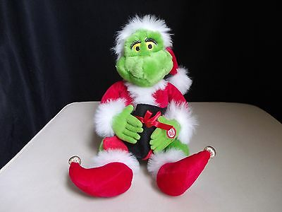 Dr Seuss How The Grinch Stole Christmas Plush Toy Music Singing Animated Motion