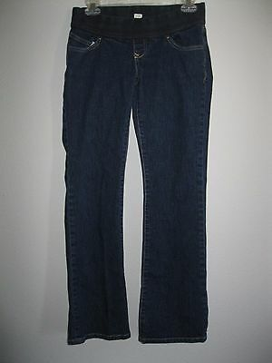 OLD NAVY MATERNITY Low Waist Stretch Denim Boot Cut Jeans  2 reg