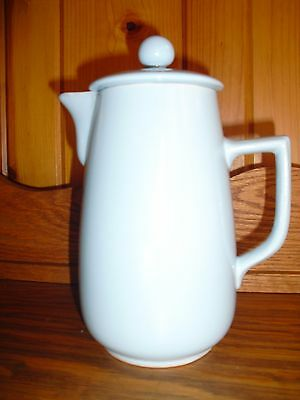 Antique Lovatts Stoneware England Baby Blue Teapot/ Pitcher 9-1/4""