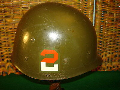 Wwii U.s. 2Nd Army Liner For The M1 Helmet