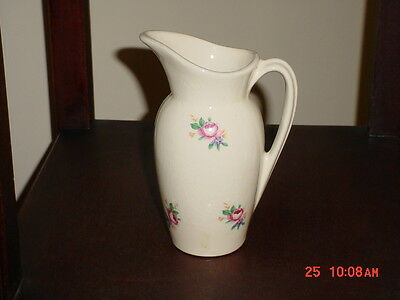 """Royal Copley Pretty 6"""" Pitcher With Floral Design"""