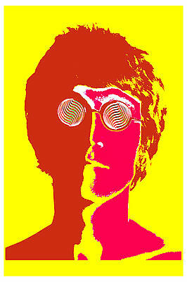 Fab Four: The Beatles Psychedelic Posters - 4 Poster Set from 1967
