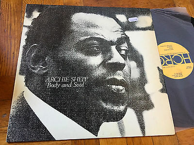 """LP  Archie Shepp """"Body And Soul"""" Free Jazz LP Horo Italy EX"""
