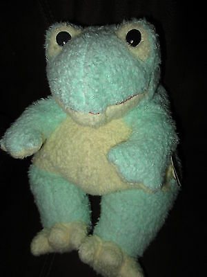 TY Baby Yellow Green Baby Frog Rattle 1999 FROG BABY NEW MWT