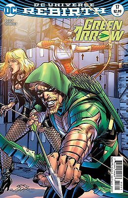 GREEN ARROW #17, VARIANT, New, First Print, DC REBIRTH (2017)