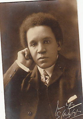 Composer And Conductor Samuel Coleridge Taylor Rp